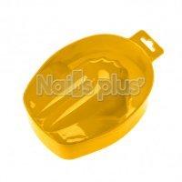 Ванночка для маникюра пластиковая желтая