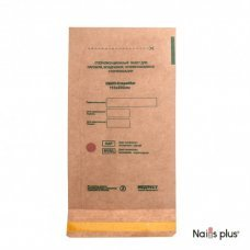 Крафт пакет для стерилизации инструментов 115х200 мм.