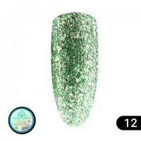 Гель-краска Shine Spectrum Global Fashion GL-12 5 мл , изумруд