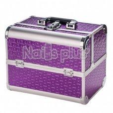 Чемодан для визажиста, фиолетовый