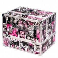 Алюминиевый кейс для косметики журнал FIO