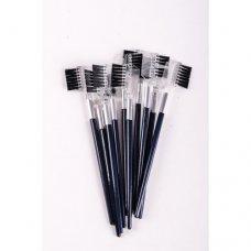Щеточка для бровей и ресниц длинная ручка (12 штук)