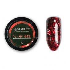 Гель Glow gel Starlet Professional ST-G 10, 7 гр