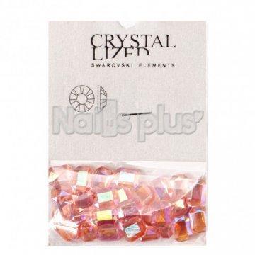 Камни елементы Сваровски персиковый диамант