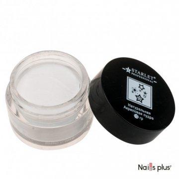 Акриловая пудра Starlet Professional, Натуральная, 15 гр, ASTP-04