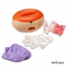 Ванночка парафиновая с набором оранжевая