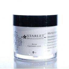 Акриловая пудра Starlet Professional, Белая, 60 гр