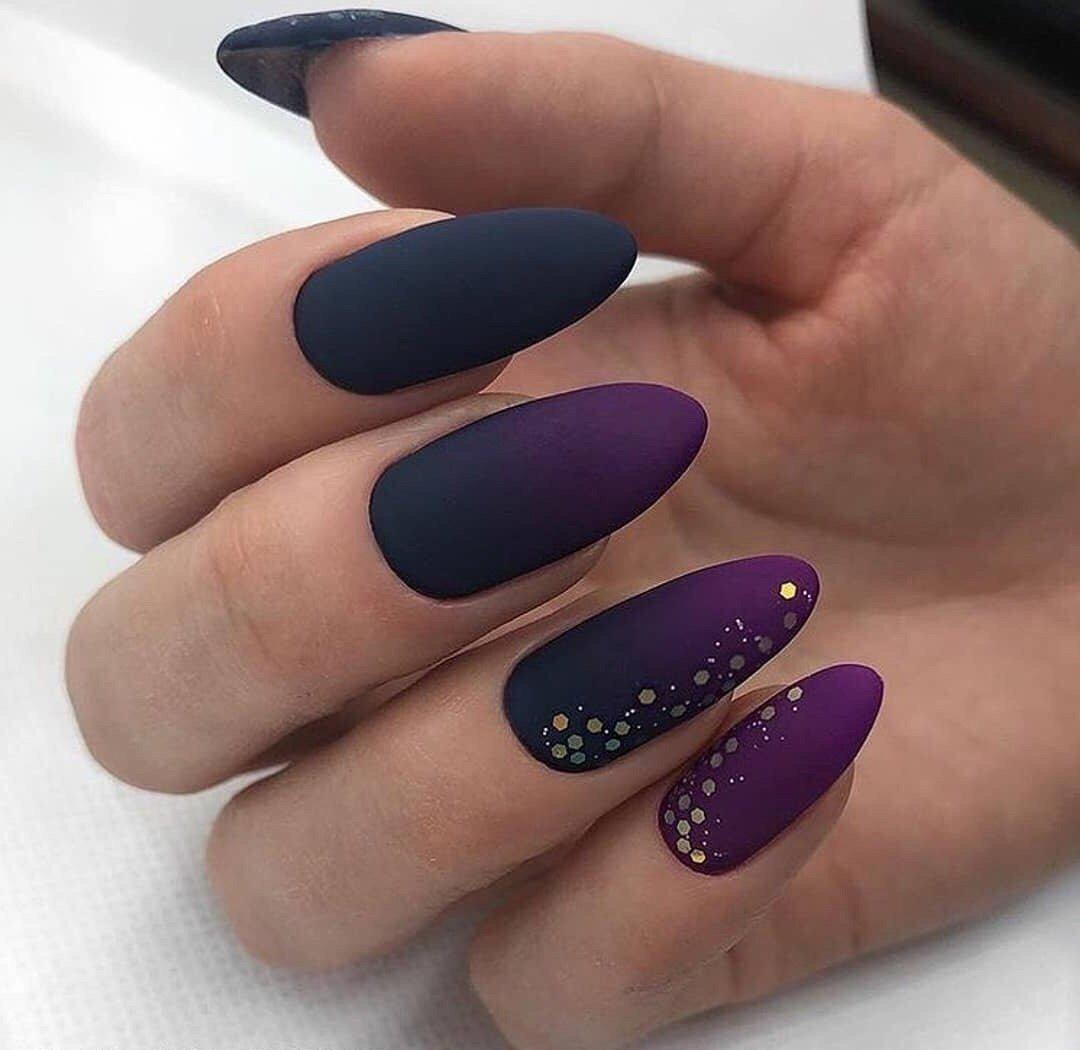 Синий вместе фиолетовым